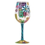 Lolita 4053102 You're The Best Wine Glass
