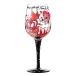 Lolita GLS11-5516E Queen of Hearts Wine Glass