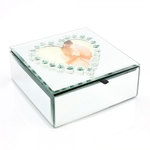 Mirror Heart Trinket Box LP28512 - The Leonardo Collection