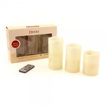 Flameless LED Candles with Remote 3 Sizes LP29145 - Leonardo