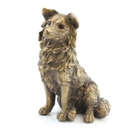 Reflections Bronzed Collie LP28848 - Leonardo