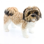 Shih Tzu Brown & White Large Ornament LP22960 - Leonardo