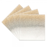 Champagne Glitter Set of 4 Coasters LP28500 - Leonardo