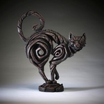 Cat Black Sculpture - Edge Sculpture (Pre-order for 4 to 6 weeks arrival)