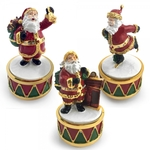 Christmas Santa Musical Trinket LP28282 - Leonardo
