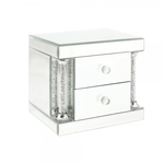Royal Crest Mirror Jewellery Box With 2 Drawers LP28528 - Leonardo Collection