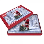 Christmas Snowman & Santa Cork Placemats Set of 4 LP92628 - L