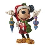 Deck The Halls Mickey Mouse Figurine 4046064 Disney Traditions 10% OFF