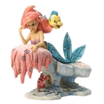 Dreaming Under The Sea (Ariel & Flounder Figurine) - Disney Traditions