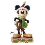 Merry Mickey Mouse 4051966 Disney Traditions Collectible Figurine