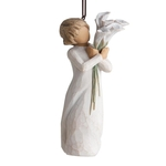 27470 Beautiful Wishes Hanging Ornament - Willow Tree