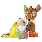 Bambi & Thumper Figurine - Disney Britto
