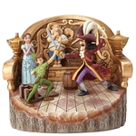 Daring Duel (Carved by Heart Peter Pan Figurine) - Disney Traditions Jim Shore