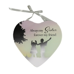 Reflections Of The Heart Mirror Plaque SISTER - Said With Sentiments