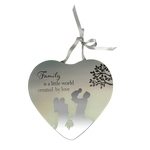 Reflections Of The Heart Mirror Plaque FAMILY - Said With Sentiments