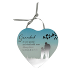 Reflections Of The Heart Mirror Plaque GRANDAD - Said With Sentiments