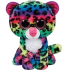 TY Beanies Buddies Dotty The Multicolour Leopard