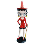 Betty Boop - Witch Red Dress