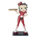Betty Boop - Roller-Skate Waitress 3 Feet Figurine