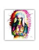 INDIAN GIRL MURCIANO FRAMED PICTURE  - COLLECT IN STORE ONLY