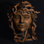 EDGE Sculpture - Venus in Copper