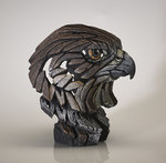 EDGE Sculpture - Falcon  in Hunter Brown Bust