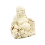 Leonardo Exotic Art Sitting Cream Happy Buddha 8