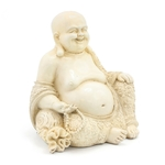 Leonardo Exotic Art Sitting Cream Happy Buddha 11