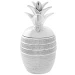 Silver Diamante Pineapple Trinket Box Ornament