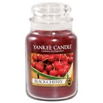 Black Cherry - Yankee Large Jar 25% OFF