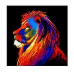 The Lion SMALL Framed Print