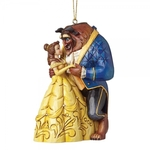 Beauty & the Beast Hanging Ornament - Disney Traditions