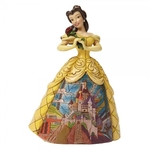 Enchanted (Belle Figurine) Prince's Castle - Disney Traditions