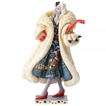 Devilish Dognapper (Cruella Figurine) - Disney Traditions
