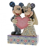 Two Souls One Heart (Mickey & Minnie Mouse Figurine) - Disney Traditions
