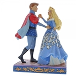 Swept Up in the Moment (Aurora & Prince Figurine) - Disney Traditions