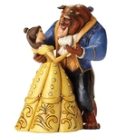 Moonlight Waltz (Beauty & the Beast Figurine) - Disney Traditions