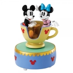 Come to the Fair (Mickey & Minnie Teacup Musical Figurine) - Disney Showcase Collection
