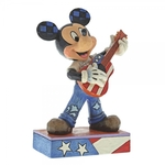 Rock & Roll (Mickey Mouse Figurine) - Disney Traditions