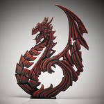 Heraldic Dragon (Red) Spring Edition 2018 - Edge Sculpture (Pre-order for 4 to 6 weeks arrival)
