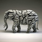 Elephant White - Edge Sculpture (Pre-order for 4 to 6 weeks arrival)