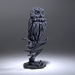 Owl Midnight Blue Sculpture - Edge Sculpture (Pre-order for 4 to 6 weeks arrival)
