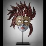 Venetian Masquerade Carnival Mask Spring 2018- Edge Sculpture (Pre-order for 4 to 6 weeks arrival)