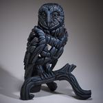 Barn Owl Midnight Blue - Edge Sculpture (Pre-order for 4 to 6 weeks arrival)