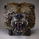 Grizzly Bear Bust - Edge Sculpture (Pre-order for 4 to 6 weeks arrival)