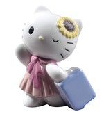 Hello Kitty Travelling - Nao by Lladro (Pre-order for arrival up to 3 weeks)