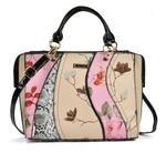 Patchwork Pink Tote Bag With Floral Detail - Sally Young