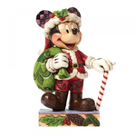 Holiday Cheer Mickey Mouse Figurine - Disney Traditions