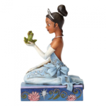 Resilient and Romantic (Tiana with Frog Figurine)