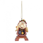 Cogsworth Hanging Ornament - Disney Traditions